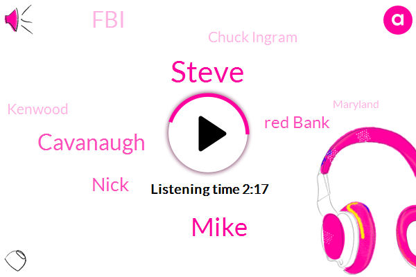 Steve,Cavanaugh,Mike,Nick,Red Bank,FBI,Chuck Ingram,Kenwood,Maryland,Westchester Hospital,Rape,Ucla,Harrison