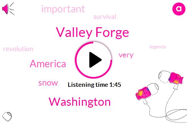 Valley Forge,Washington,America