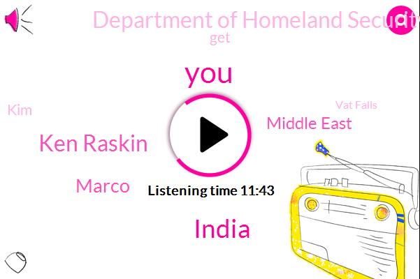 India,Ken Raskin,Marco,Middle East,Department Of Homeland Security,KIM,Vat Falls,Programmer,A. D. F. G. H. I. N. J.
