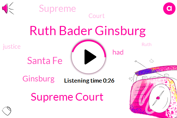 Listen: Ruth Bader Ginsburg Treated For New Cancer Found On Pancreas