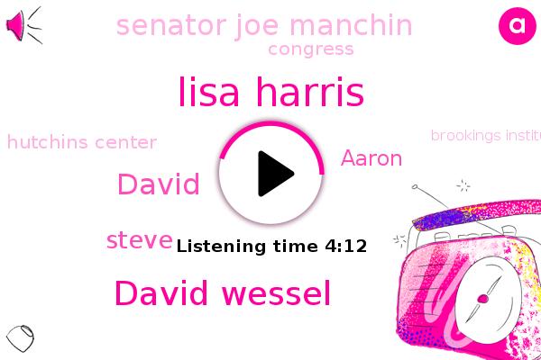 Lisa Harris,David Wessel,Hutchins Center,Congress,Brookings Institution,Congressional Budget Office,Richmond,University Of Massachusetts,David,CBO,Virginia,Amherst,Steve,Aaron,Mcdonald,Senator Joe Manchin