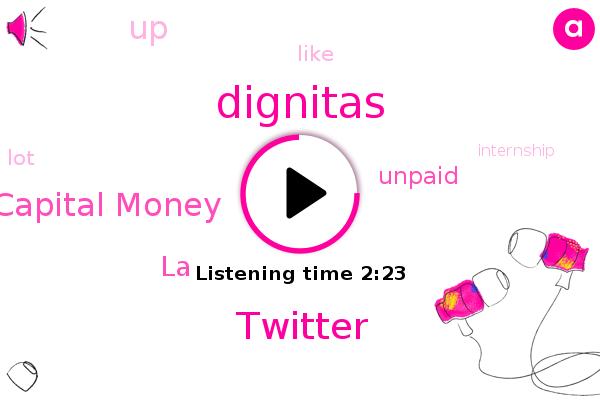 Dignitas,Venture Capital Money,Twitter,LA