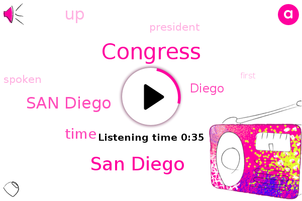 San Diego,Congress