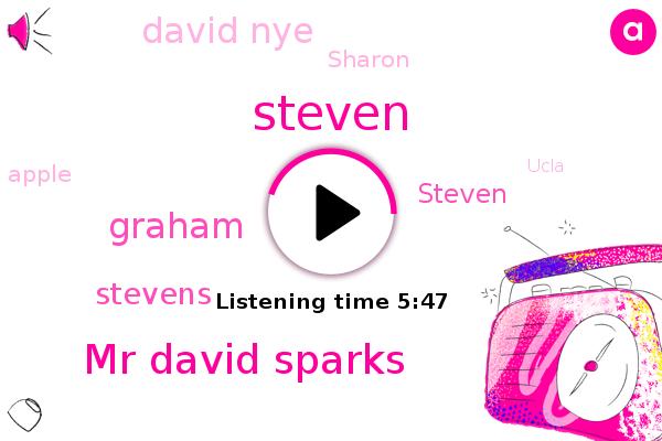 Mr David Sparks,Apple,Ucla,Steven,Graham,MAC,Stevens,Devon,Google,David Nye,Sharon