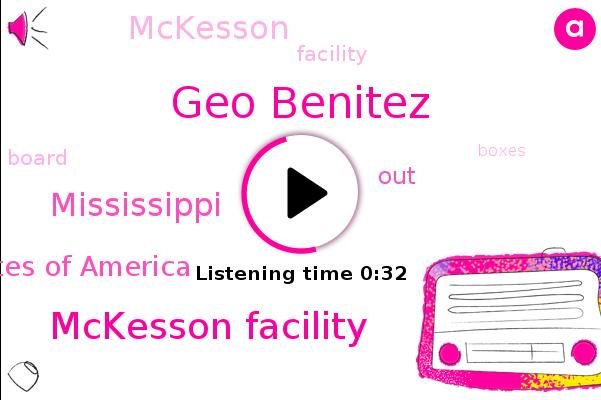 Mckesson Facility,Geo Benitez,Mississippi,ABC,United States Of America
