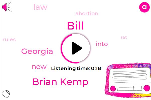 Brian Kemp,Bill,Georgia,Six Weeks
