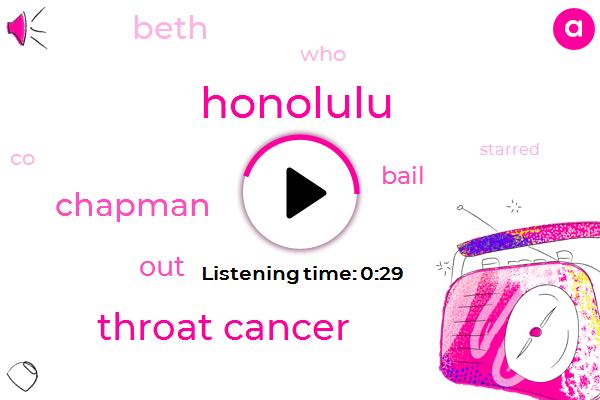 Throat Cancer,Honolulu,Two Year