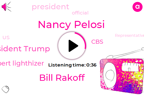 Listen: Pelosi to meet with U.S. Trade Representative Lighthizer