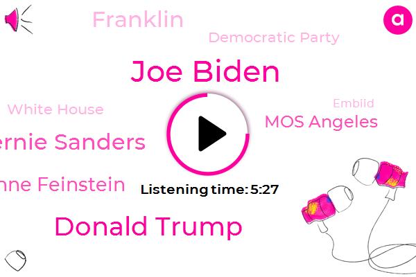 Joe Biden,Donald Trump,Bernie Sanders,Democratic Party,America,White House,Senator Dianne Feinstein,Guadalcanal,Language Center,Iraq,Embiid,Clarence Thomas Anita Hill,Mos Angeles,Franklin,Pennsylvania,Michigan,Washington