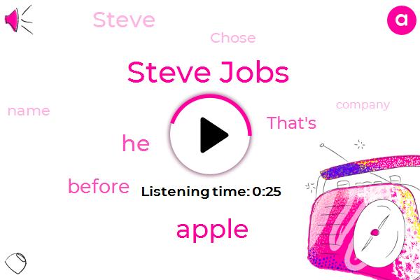 Steve Jobs,Apple