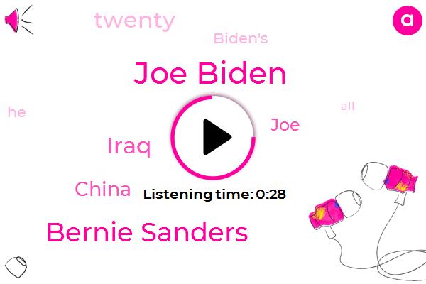 Listen: Bernie Sanders rejects Joe Biden's 'most progressive' 2020 Democrat claim
