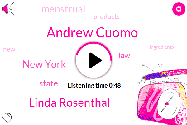Listen: New York now requires companies to list ingredients on menstrual products
