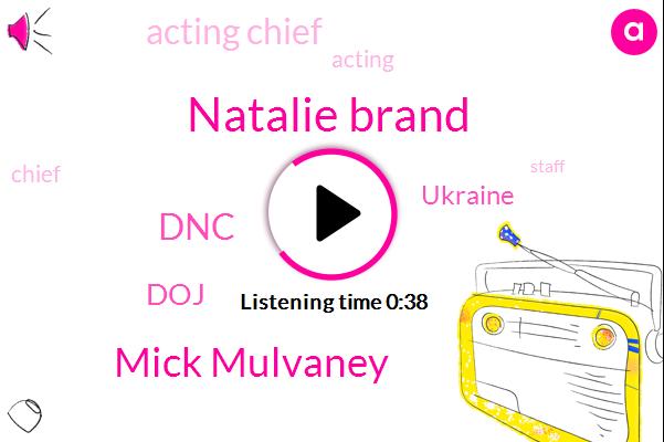 Listen: Mulvaney says delay in Ukraine aid linked to DOJ investigation