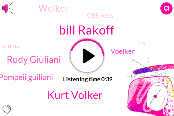 """Listen: Volker raised concerns about Giuliani with """"a number of people"""""""