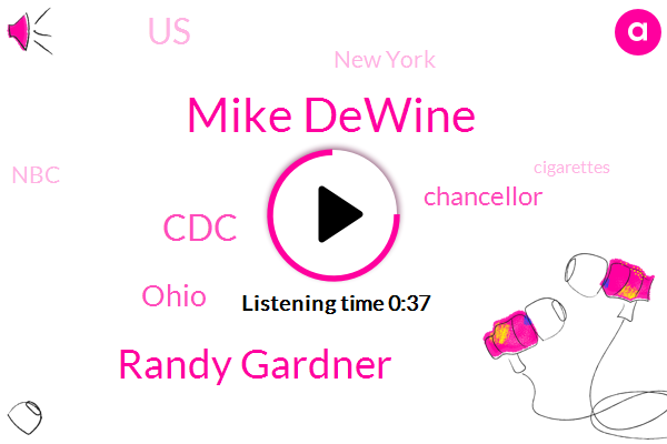 Mike Dewine,Chancellor,Randy Gardner,United States,New York,Ohio,CDC,NBC