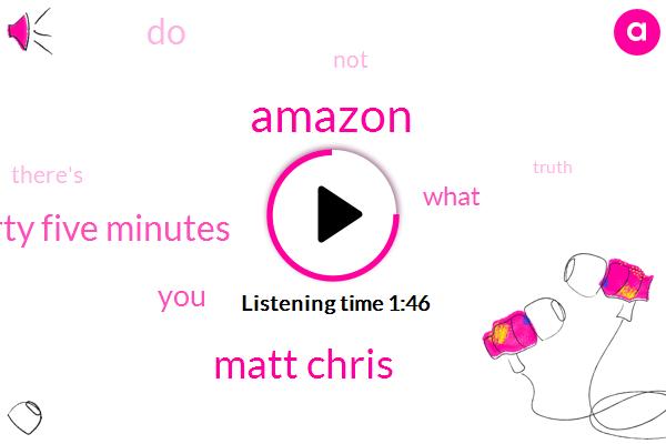 Amazon,Matt Chris,Forty Five Minutes