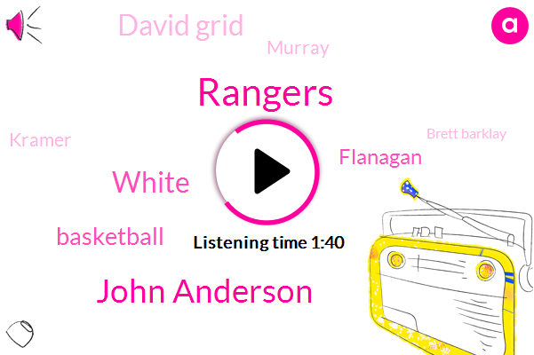 Rangers,John Anderson,White,Basketball,Flanagan,David Grid,Murray,Kramer,Brett Barklay,Darren