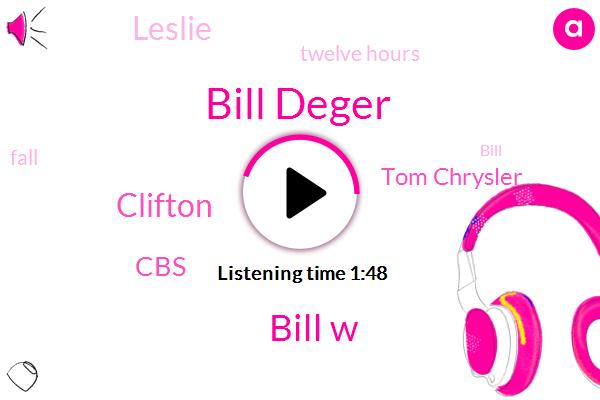 Wcbs,Bill Deger,Bill W,Clifton,CBS,Tom Chrysler,Leslie,Twelve Hours