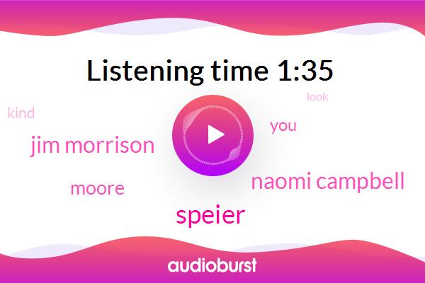 Speier,Naomi Campbell,Jim Morrison,Moore