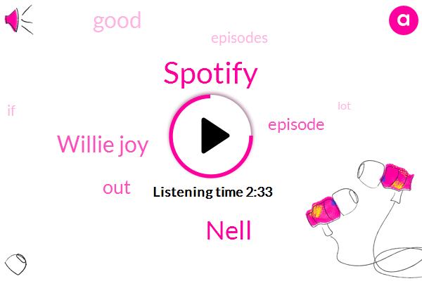 Spotify,Nell,Willie Joy