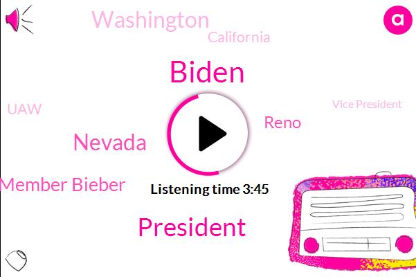 Biden,President Trump,Nevada,U. A. W. Member Bieber,NPR,Reno,Washington,California,UAW,Vice President,Bill Clinton,Dave Mattingly,China,Dr Mike Watt,Paul Volcker,Hillary Clinton,Hospitals Corentin Unit