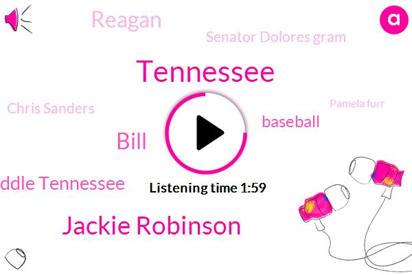 Tennessee,Jackie Robinson,Bill,Middle Tennessee,Baseball,Reagan,Senator Dolores Gram,Chris Sanders,Pamela Furr,Ken Weaver,Oak Ridge Republican,WGN,United States,Roy Campanella,Wilson,ROE,Susan Linda,Executive Director,Juliet,Wade
