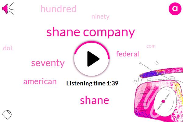 Shane Company,Shane
