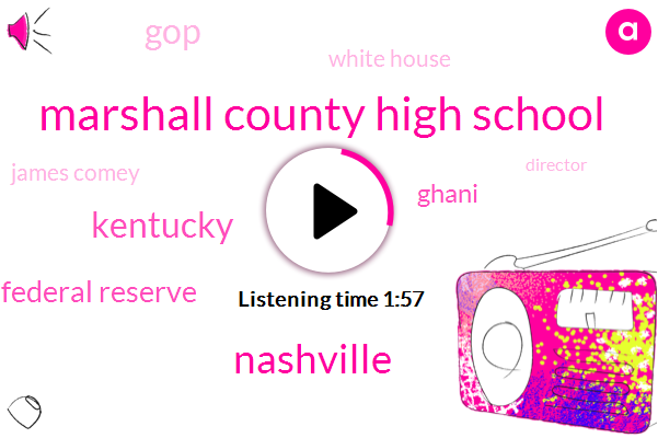 Marshall County High School,Nashville,Kentucky,Chairman Of The Federal Reserve,Ghani,GOP,White House,James Comey,Director,FBI,Special Counsel,Attorney,Maguire,AP,Vanderbilt University Medical Center,Jeff Sessions,FED,Janet Yellen,Jerome Powell,Senate,The Deal,United States,Chuck Schumer,Sagara Madani,Russia,President Trump,Donald Trump,Robert Muller