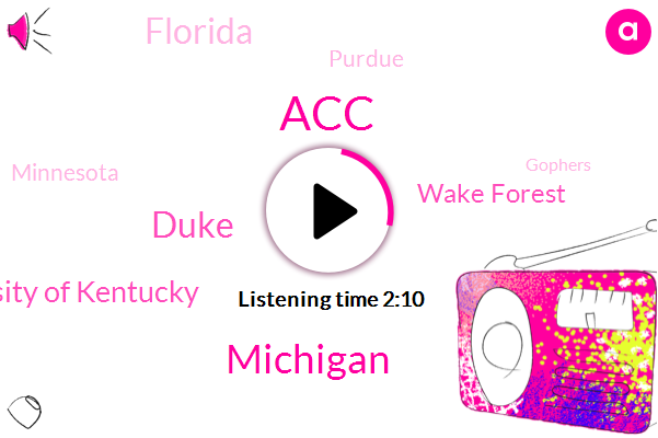 ACC,Michigan,Duke,University Of Kentucky,Wake Forest,Florida,Purdue,Minnesota,Gophers,North Carolina,Oklahoma,Virginia Tech,GMI,Amir Coffey,Basketball,Doolittle,Cameron Johnson,Boston College,UK,Nevada