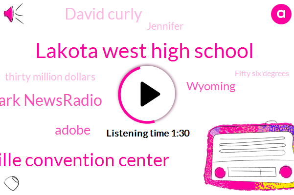Lakota West High School,Sharonville Convention Center,Mark Newsradio,Adobe,Wyoming,David Curly,Jennifer,ABC,Thirty Million Dollars,Fifty Six Degrees,Seven Hundred W