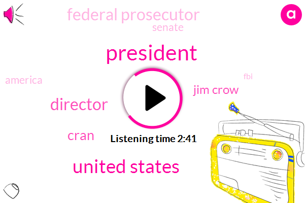President Trump,United States,Director,Cran,Jim Crow,Federal Prosecutor,Senate,America,FBI,James Comey,Facebook,Prosecutor,Shut Down,Jeff