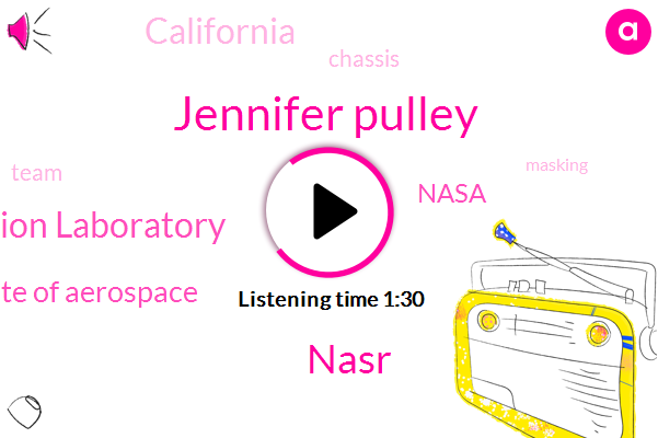 Jet Propulsion Laboratory,Jennifer Pulley,Nasr,National Institute Of Aerospace,California,Nasa,Three Days,Six Hours