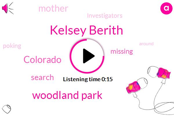 Kelsey Berith,Woodland Park,Colorado