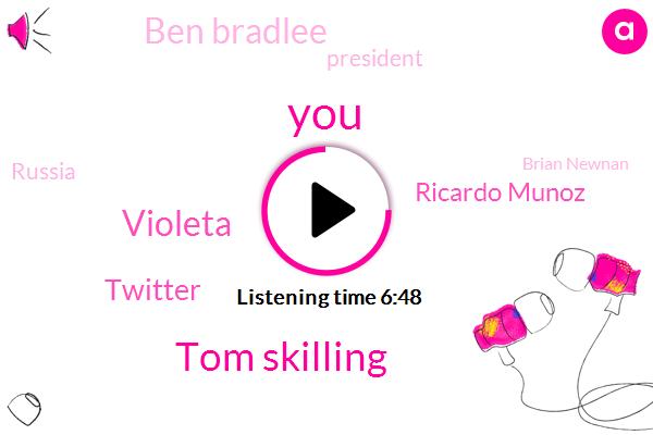 Tom Skilling,Violeta,Twitter,Ricardo Munoz,Ben Bradlee,President Trump,Russia,Brian Newnan,Goose Island,Erica Turkey,WGN,Illinois,Blackhawks,Basketball,Facebook,ABC