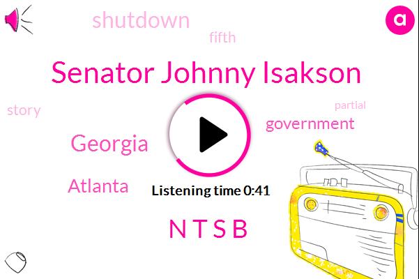 Senator Johnny Isakson,Georgia,Atlanta,N T S B,Twenty Fifth,Three Day