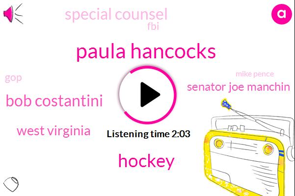 Paula Hancocks,Hockey,Bob Costantini,West Virginia,Senator Joe Manchin,Special Counsel,FBI,GOP,Mike Pence,Vice President,Olympics,Surveillance Abuse,South Korea,Hillary Clinton,Reporter,Mr Trump