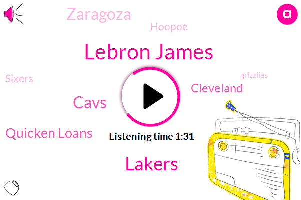 Lebron James,Lakers,Cavs,Quicken Loans,Cleveland,Zaragoza,Hoopoe,Sixers,Grizzlies,NBA,Celtics,Pistons,Mavericks,Basketball,Blazers,Raptors,Hornets,Pacers,Hawks,Eight Years