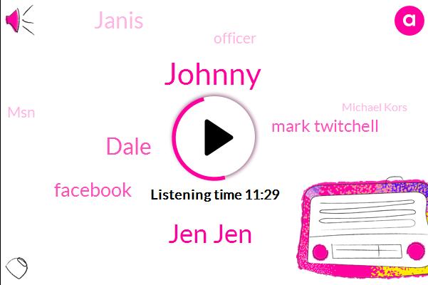 Johnny,Jen Jen,Dale,Mark Twitchell,Facebook,Officer,Janis,MSN,Michael Kors,Investigator,Eliza,Ebay,Costa Rica,John,Steve Lil,T. H. R. E. D. U.
