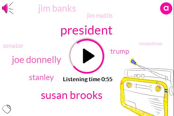 President Trump,Syria,Assad Regime,Susan Brooks,Jim Banks,Indiana,Mitchell,Jim Mattis,Senator Joe Donnelly,Representative,Stanley,Stan Lear