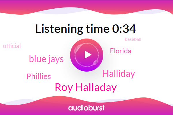Roy Halladay,Blue Jays,Halliday,Baseball,Phillies,Morphine,Gulf Of Mexico,Florida,Official