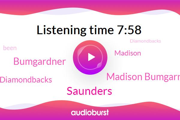 Arizona Diamondbacks,Madison Bumgarner,Saunders,Bumgardner