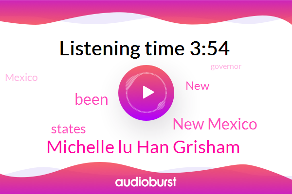 New Mexico,Michelle Lu Han Grisham