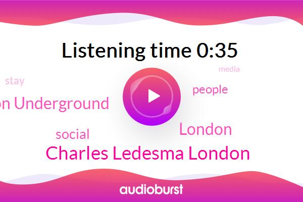 London,Charles Ledesma London,London Underground