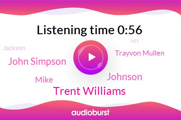 Trent Williams,Johnson,John Simpson,Mike,Trayvon Mullen,VA,Jackson,NFL,Las Vegas,Football