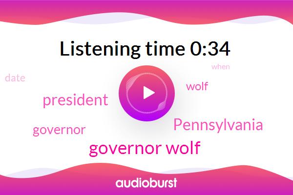 Governor Wolf,Pennsylvania,President Trump