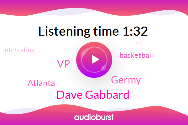 Basketball,Dave Gabbard,VP,Atlanta,Germy
