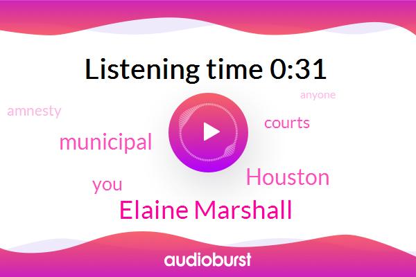 Elaine Marshall,Houston