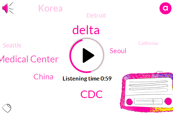 China,Seoul,Korea,Detroit,Seattle,California,CDC,Uc Davis Medical Center,Delta,Atlanta