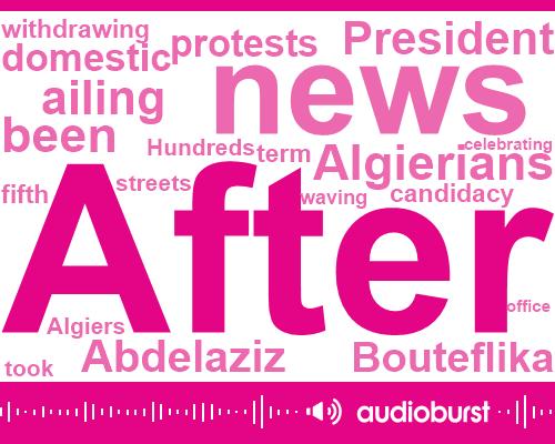 President Abdelaziz Bouteflika,Mister Wicker,President Trump,Algiers,Algieria,Twenty Years