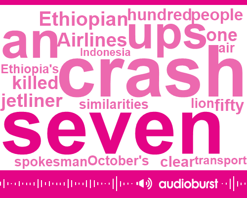 "Listen: Ethiopia flight data show ""clear similarities"" with Lion Air crash"